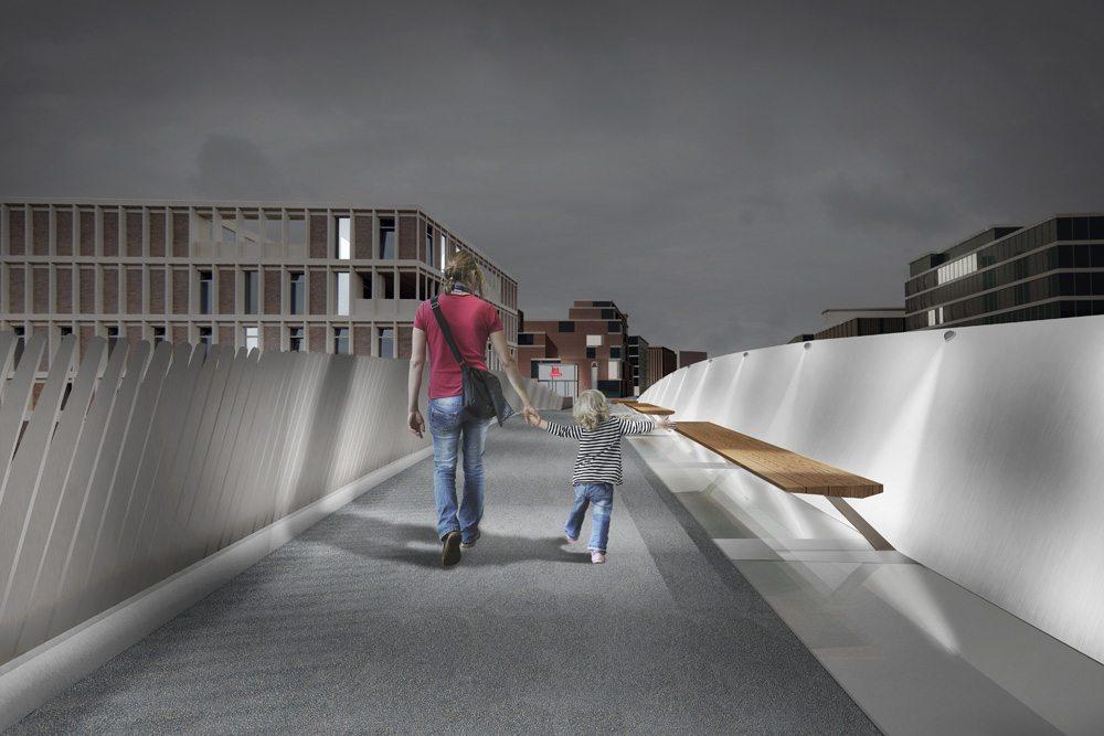 Bridge over Frederiksholmsløbet
