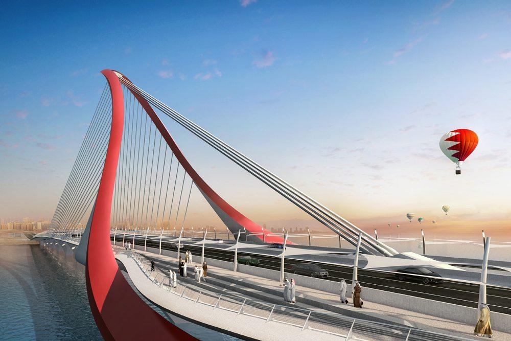 Bahrain to Manama Causeway