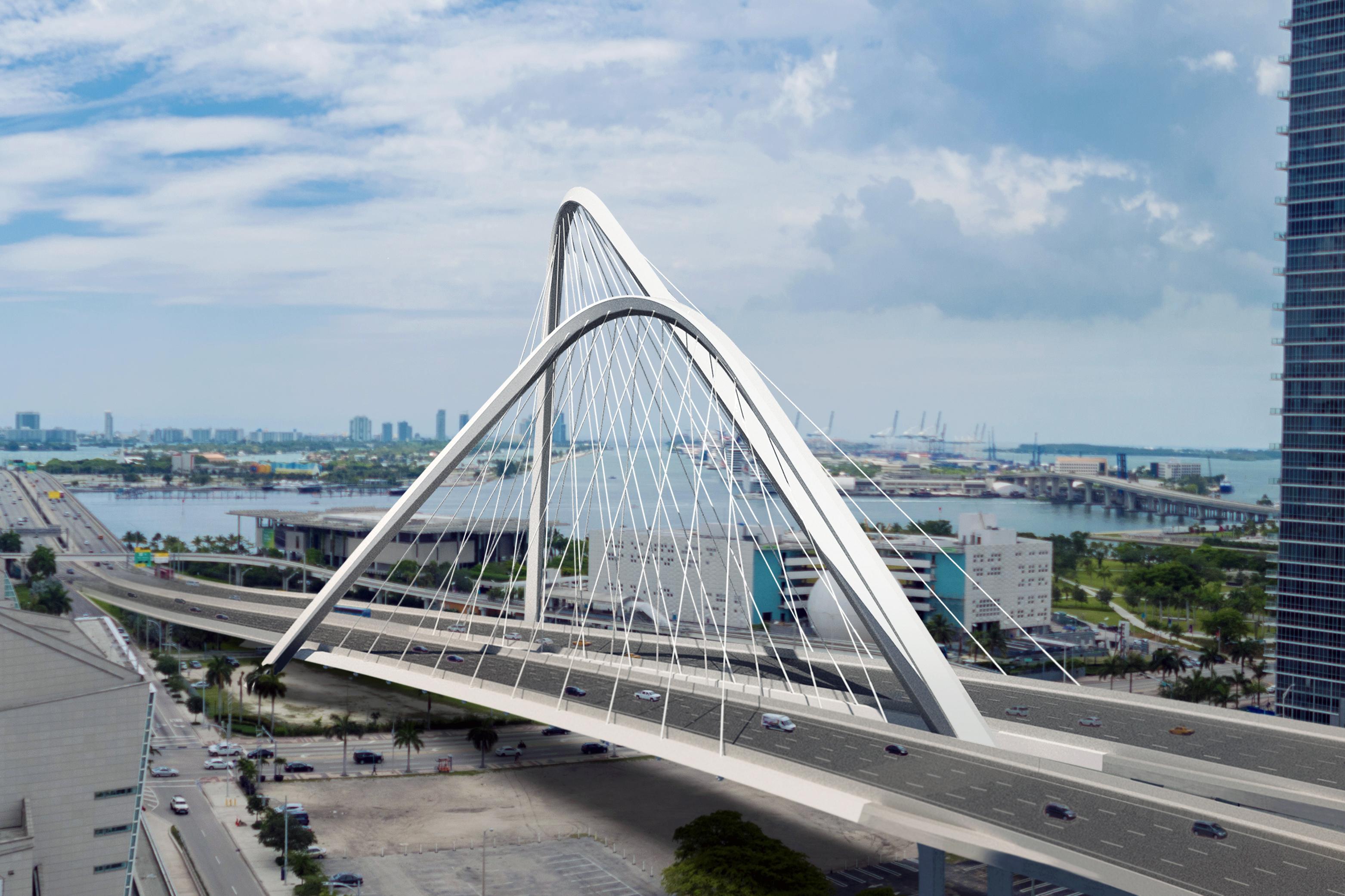 I-395 Signature Bridge