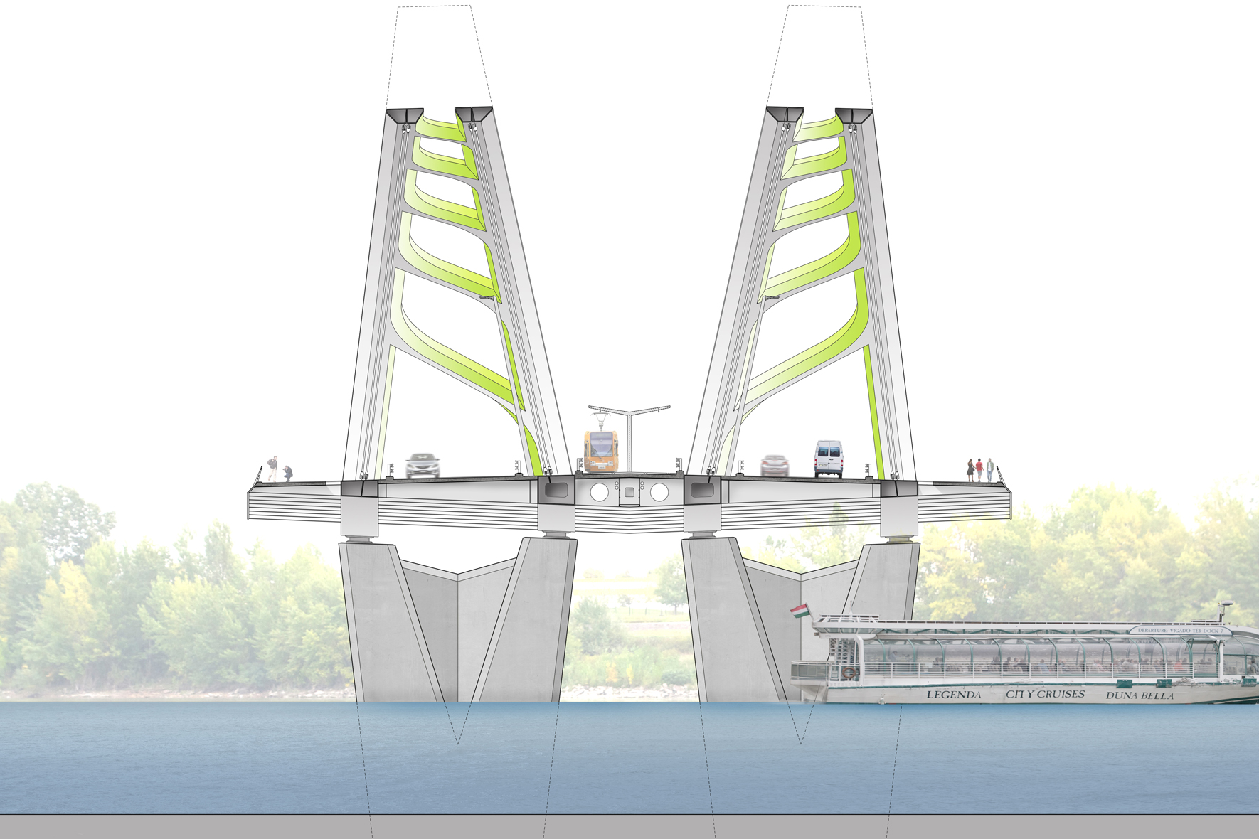 New Danube Bridge