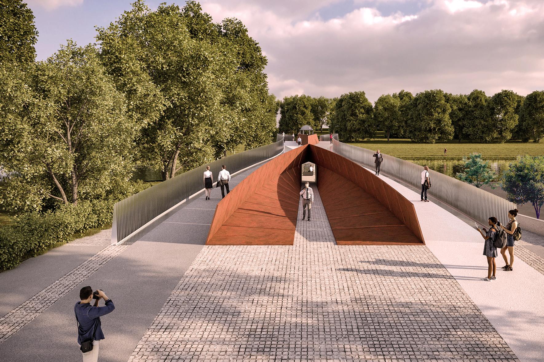 Irish National War Memorial Gardens Bridge